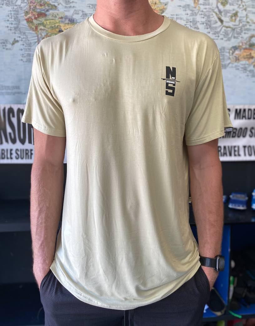 Mens Get Board AVOCADO Bamboo T Shirt