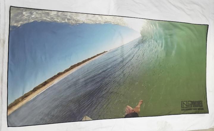 Rapid Dry Barrel Beach Travel Towel
