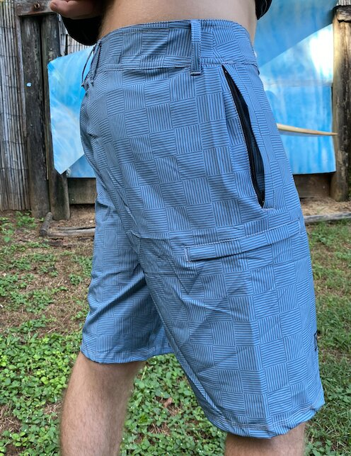 Going Out Boardies 2.Blue