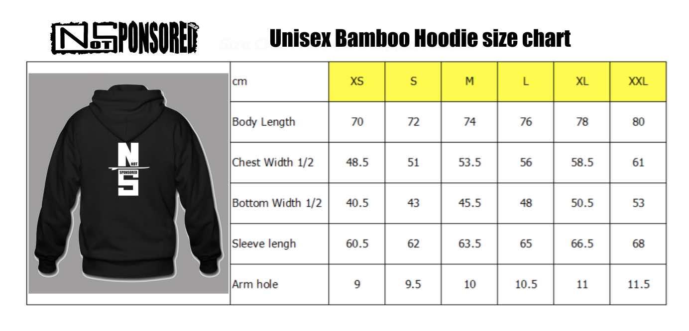 Bamboo Zippered Hoodie Get Board