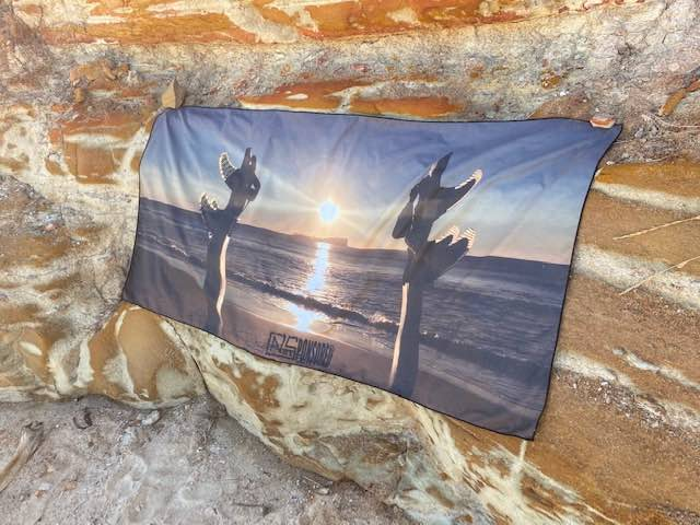 Rapid Dry Island Sunrise Beach Travel Towel