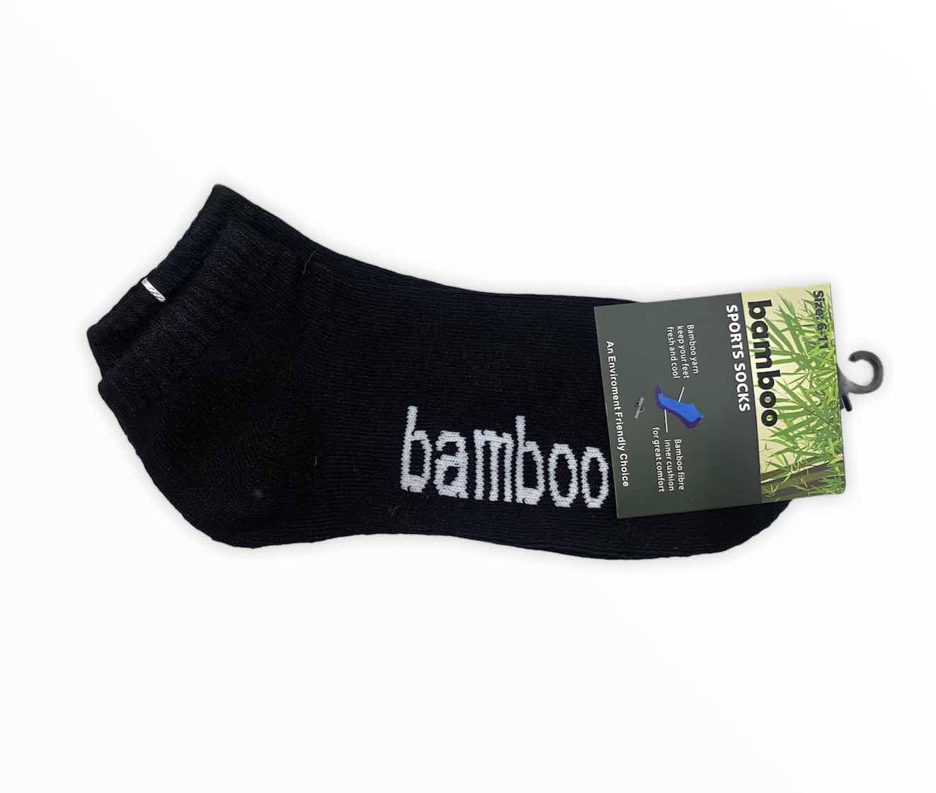 Socks Bamboo Low Cut Cushioned Sports Socks