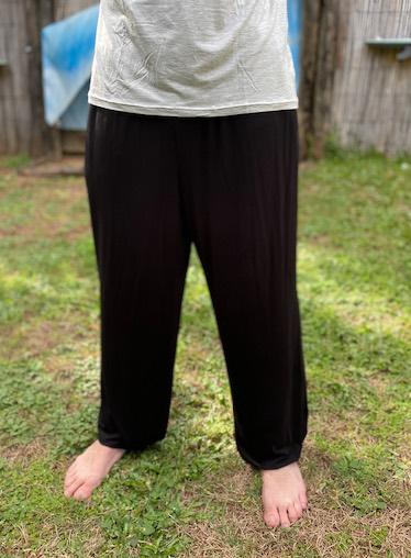 Bamboo lounge pants yoga hippie harem hobo pants
